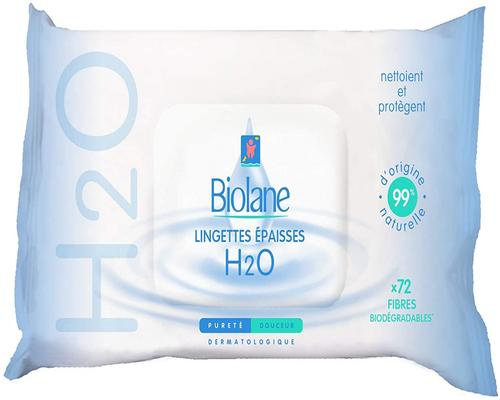 a Biolane Thick Cleansing Wipe H2O Ecorecharge