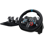 <notranslate>En Logitech G29 Driving Force Racing ratt med pedaler</notranslate>