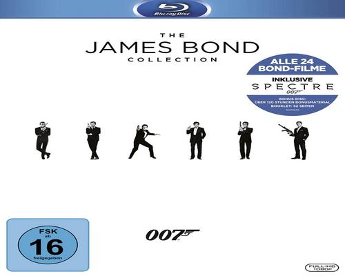 un film James Bond - Collection 2016 [Blu-Ray]