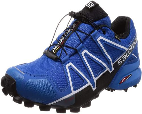A Pair Of Salomon Speedcross Shoes
