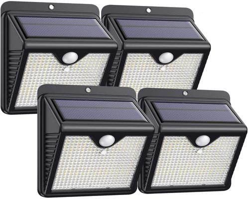 a Lighting Trswyop Outdoor Solar Lamp 4 Pack 150 LEDs