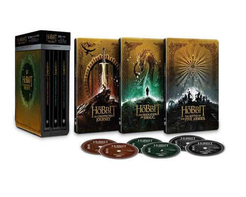 One Movie The Hobbit - Steelbook Trilogy (4K Ultra Hd) (6 disques)