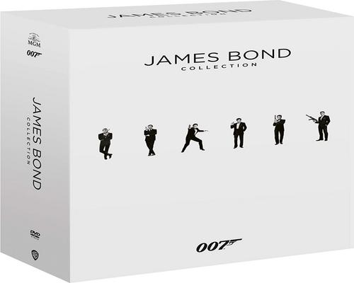uno Film 007 - James Bond Complete Collection (24 Film In Dvd)