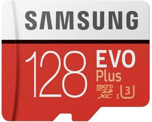 a Samsung Mb-Mc128Ga / Eu Memory Sd Evo Plus 128G Card With Sd