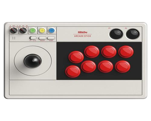 a Set Of Accessory 8Bitdo Arcade Stick For Switch & Windows