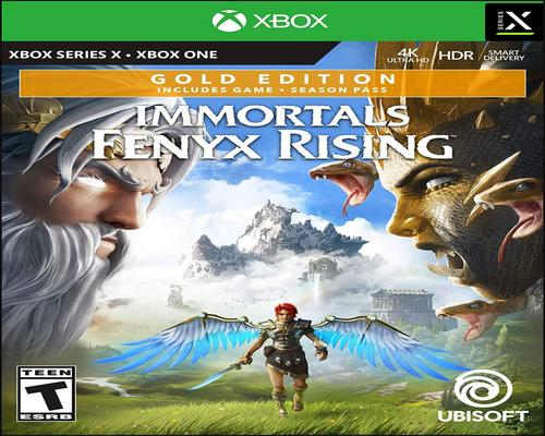 a Set Of Accessory Immortals Fenyx Rising Gold Edition - Xbox One