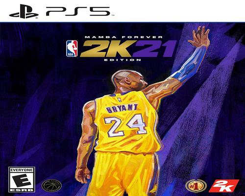 a Set Of Accessory Nba 2K21 Mamba Forever Edition - Playstation 5 Mamba Forever Edition