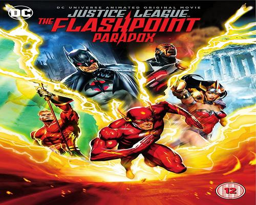 a Dvd Dcu: Justice League: The Flashpoint Paradox [Dvd] [2017] [2013]