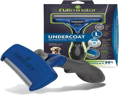 A Premium Furminator Brush Age Tool Large To Long Dogs