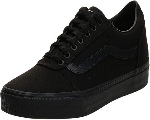 A Pair Of Vans Ward Sneakers