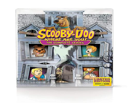 a Movie Scooby-Doo, Where Are You!: The Complete Series Limited Edition 50Th Ann Mystery Mansion (Blu-Ray)