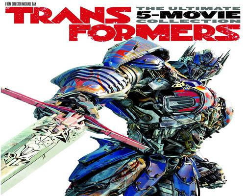 a Movie Transformers: The Ultimate 5-Movie Collection Dvd