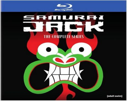 a Movie Samurai Jack: The Complete Series Box Set (Bd) [Blu-Ray]