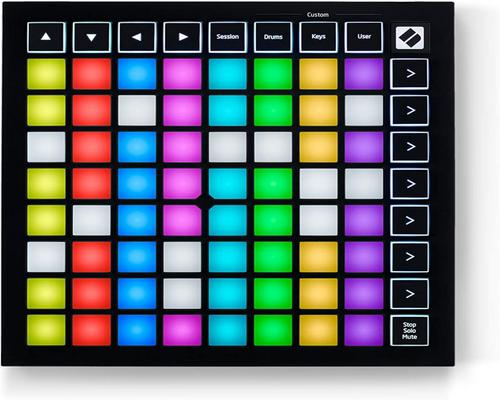 a Novation Launchpad Mini Midi Controller
