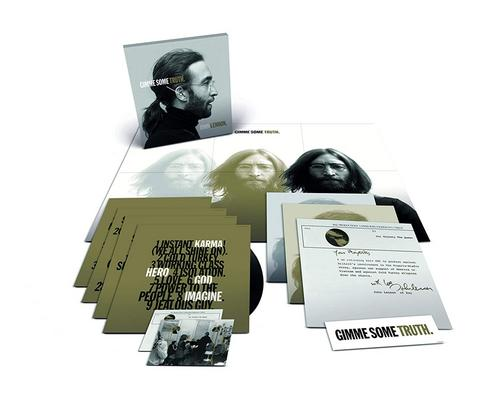 a Cd Gimme Some Truth. [4 Lp Box Set]