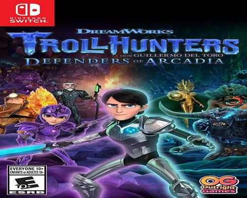 a Set Of Accessory Trollhunters Defenders Of Arcadia - Nintendo Switch