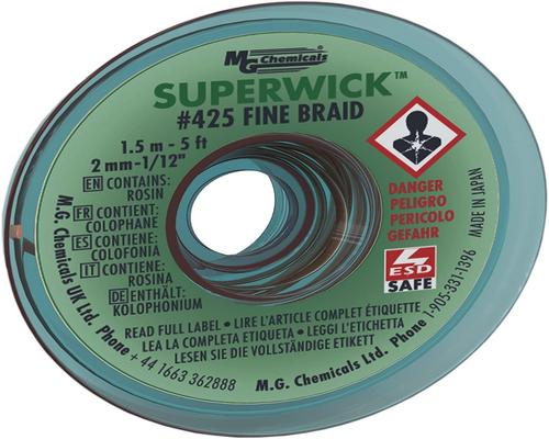 a Mg Chemicals Trs -suodatin # 3 Super Wick
