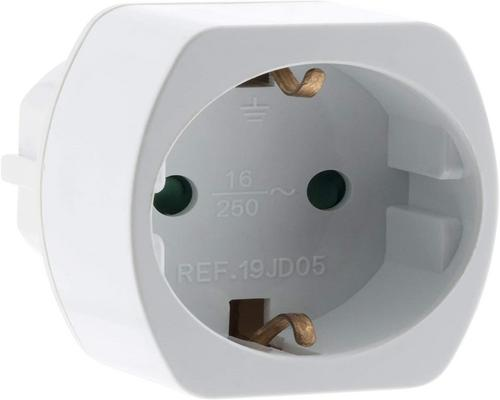 One Power Strip Travel Adapter