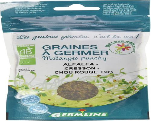 a Plant Germ'Line Alfalfa Watercress Organic Red Cabbage To Sprout Organic