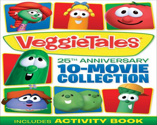 a Movie Veggietales: 25Th Anniversary 10-Movie Collection
