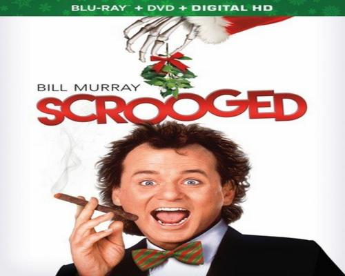 a Movie Scrooged [Blu-Ray]