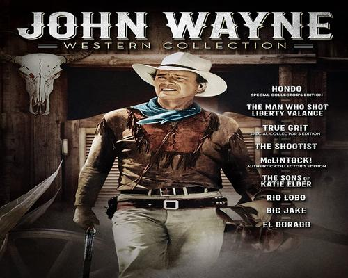 a Movie John Wayne Western Collection