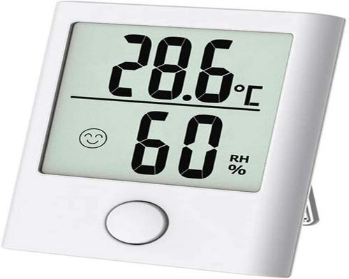 an Absuper Mini Thermometer / Indoor Hygrometer