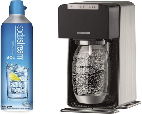 a Sodastream Source Power Machine