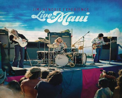 een Cd Jimi Hendrix Experience - Live In Maui