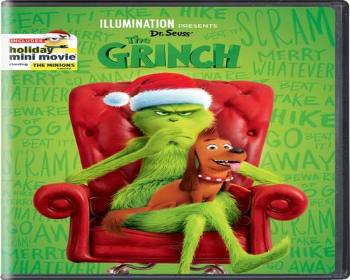 a Movie Illumination Presents: Dr. Seuss' The Grinch (Cover May Vary)