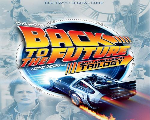 a Movie Back To The Future Trilogy [Blu-Ray]