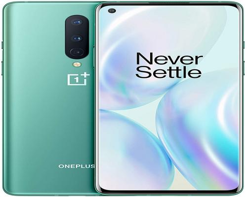 a Oneplus 8 smartphone