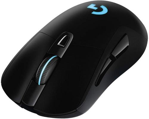 a Logitech G703 Lightspeed Wireless Gaming Mouse