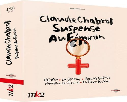 a Film Claude Chabrol-Suspense Au Féminin: Hell + The Ceremony + Nothing Goes More + Thank You For The Chocolate + The Flower Of Evil [Blu-Ray]