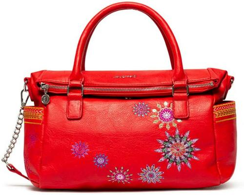 una borsa rossa Desigual Bols_Ada Loverty Bag
