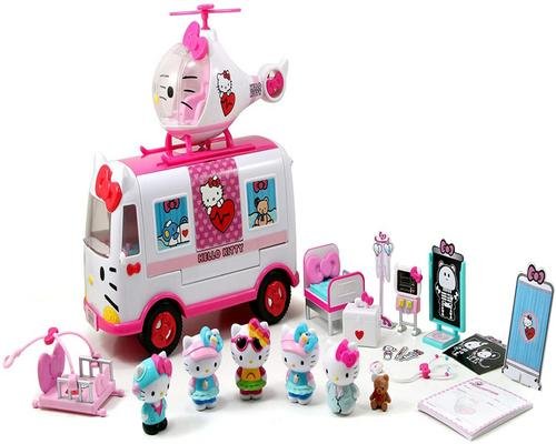 un set da gioco Smoby-Hello Kitty-Relief