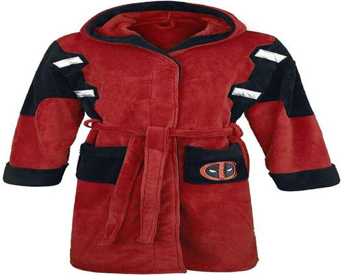 ein offizieller Marvel Fleece Deadpool Bademantel