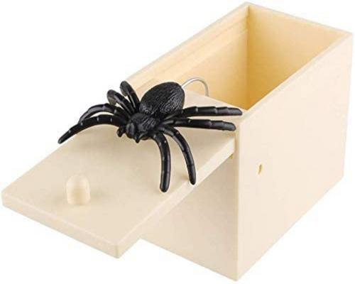 en Spider Surprise Box fyldning