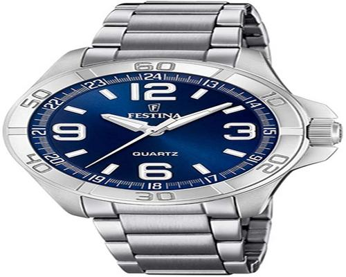 a Festina Watch For Men In Steel