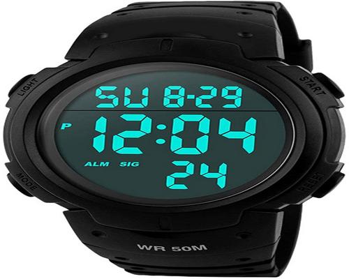 Digital Men's Sports Watch