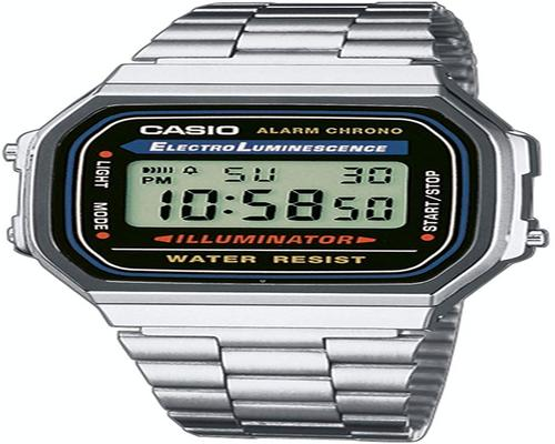 eine Casio Collection A168Wa Mixed Watch