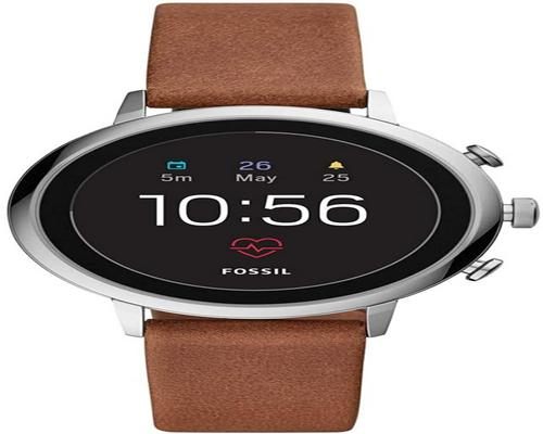 eine Fossil Connected Watch Ftw6014
