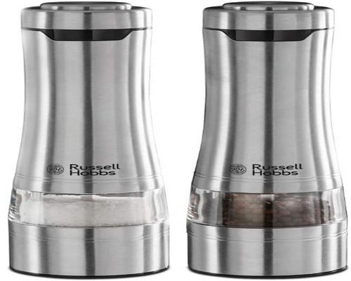 a Russell Hobbs Salt & Pepper Mill Set Electric