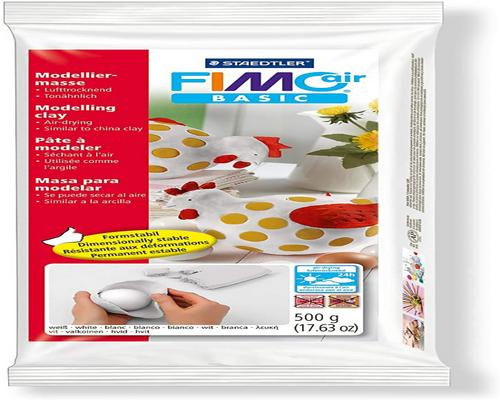 a Staedtler Fimo Air Basic Ceramic