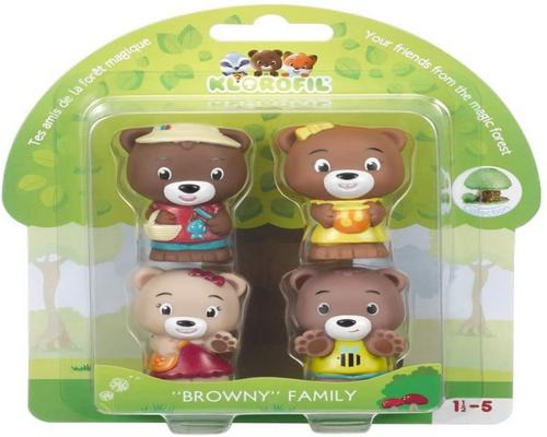 et Klorofil vækkeur - Browny Family Collectible Characters