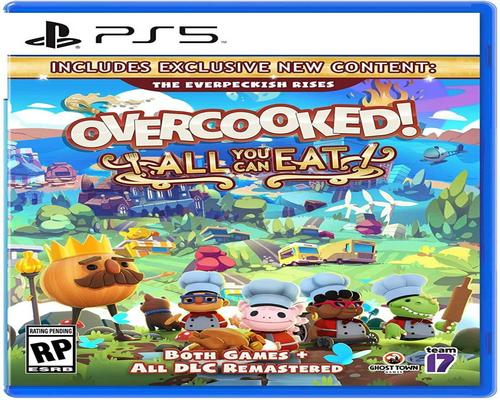 Game Overcooked! All You Can Eat