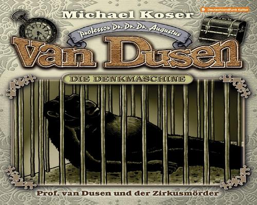 un CD Professor Van Dusen And The Circus Killer Episode 25