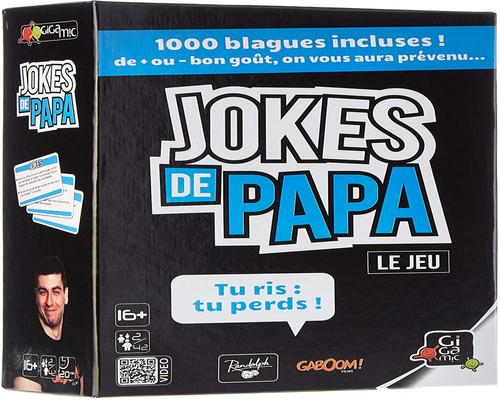 un gioco Gigamic Jokes De Papa