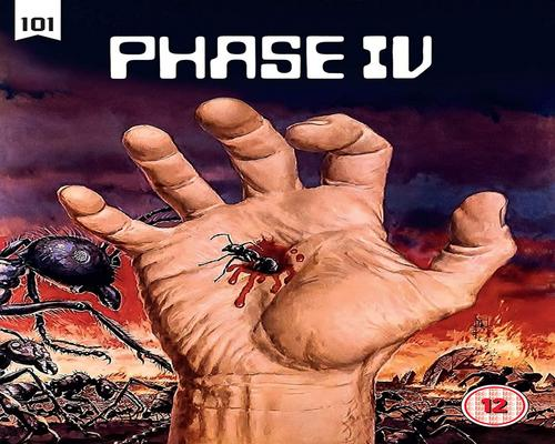 a Dvd Phase Iv [Blu-Ray]