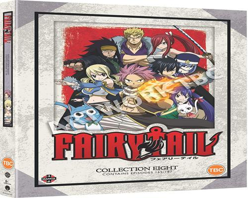 a Dvd Fairy Tail Collection 8 (Episodes 165-187) [Dvd]